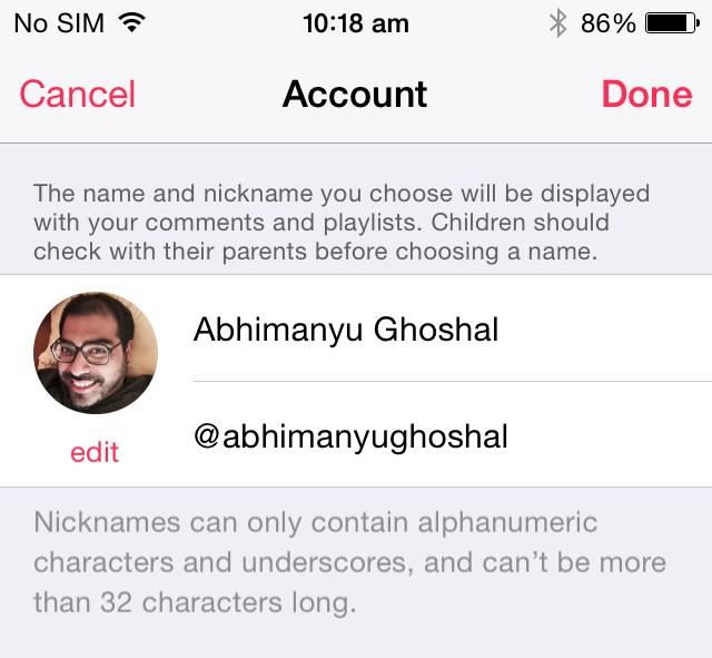 Скорее регистрируйте свой никнейм в Apple Music, пока это не сделал кто-то другой