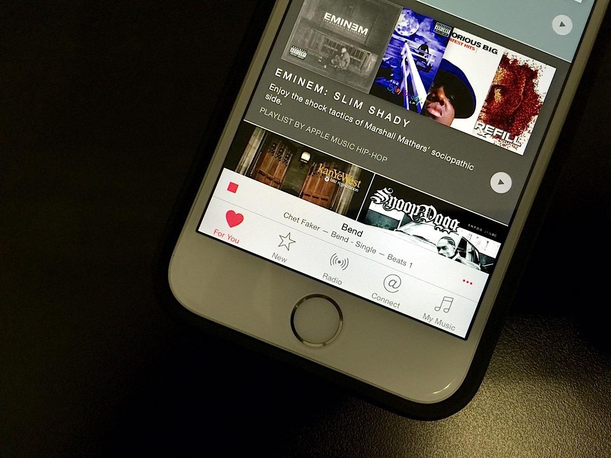 Как правильно ставить лайки в Apple Music