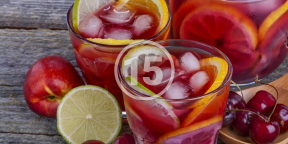 РЕЦЕПТЫ: 15 летних вариантов сангрии