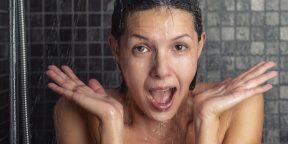 Почему полезен холодный душ