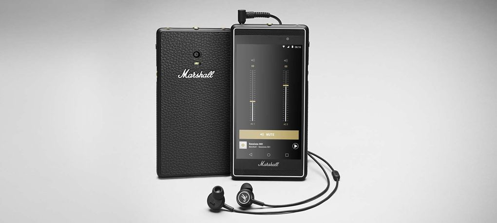 Производитель акустики Marshall анонсировал собственный музыкальный смартфон