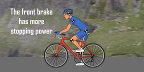 ВИДЕО: Как правильно падать с велосипеда при движении в группе