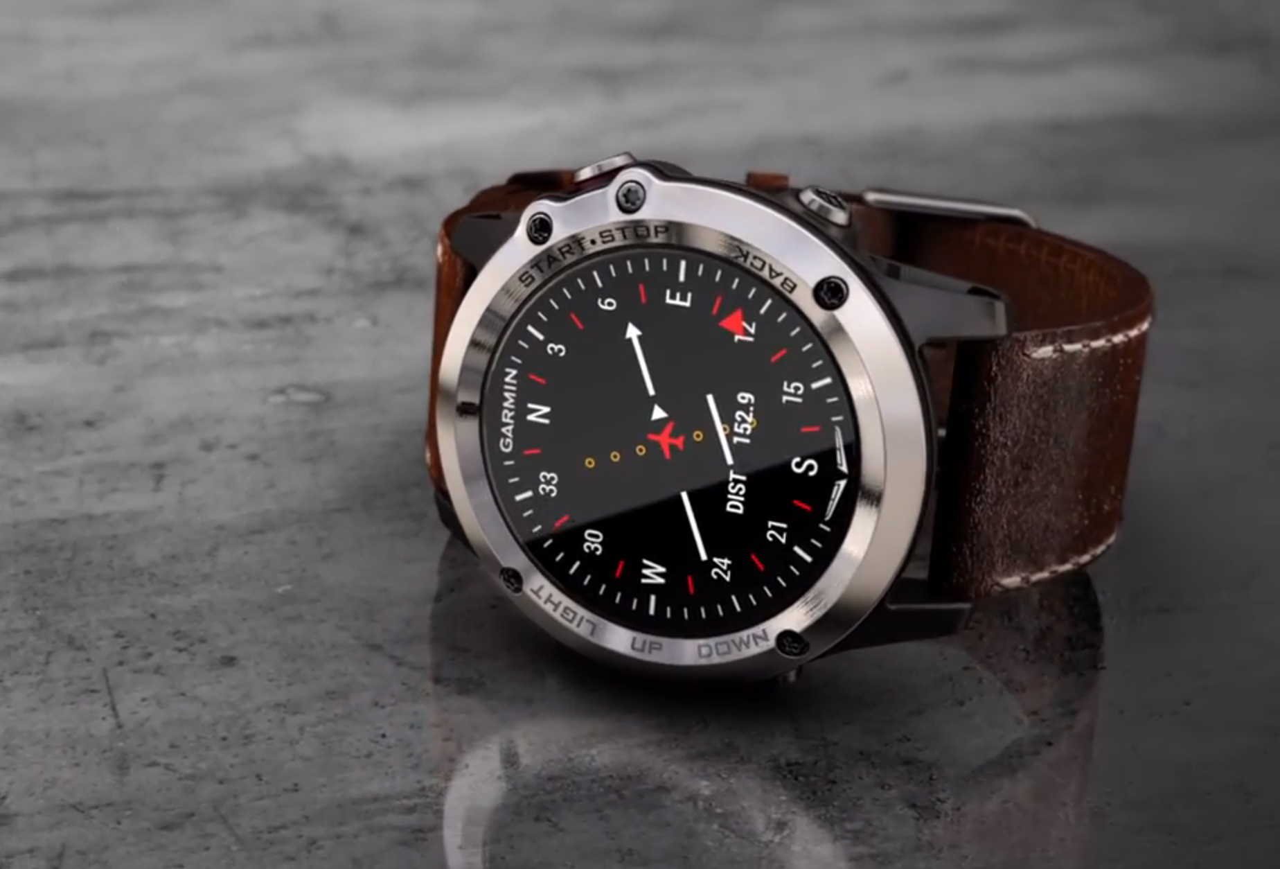 Garmin D2 Bravo —часы для пилотов, которые сложно не захотеть