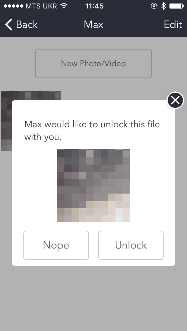 DoubleLock для iOS — для разблокировки личных фотографий понадобятся два человека