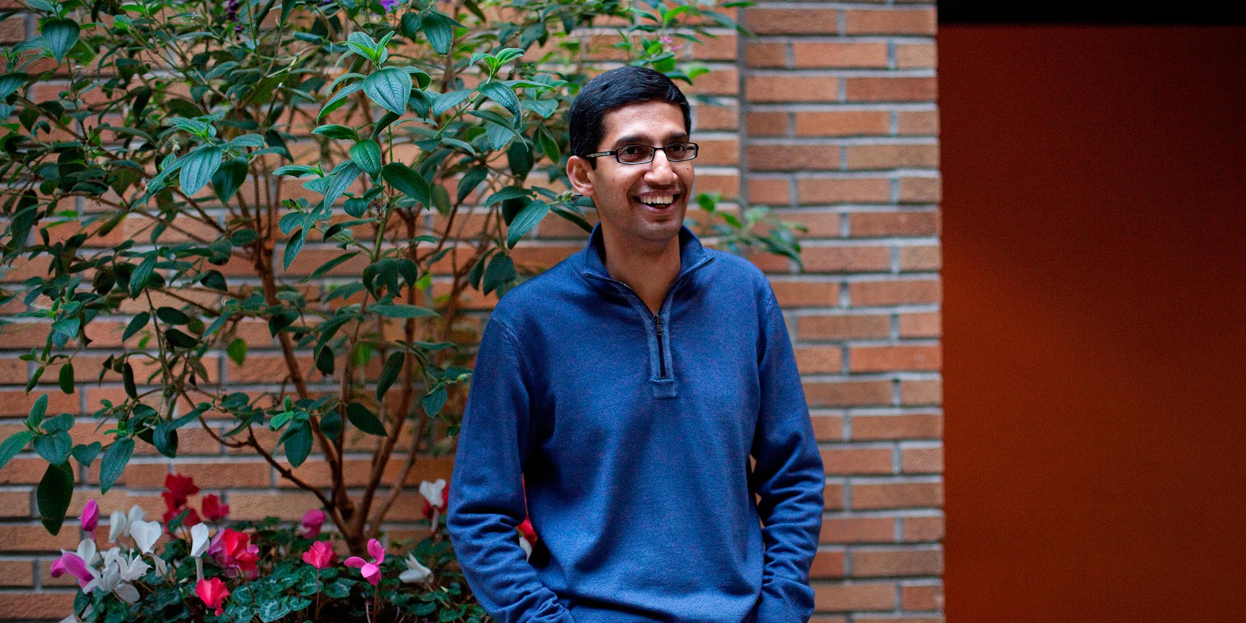 Все, что нужно знать о Сундаре Пичаи — новом главе Google