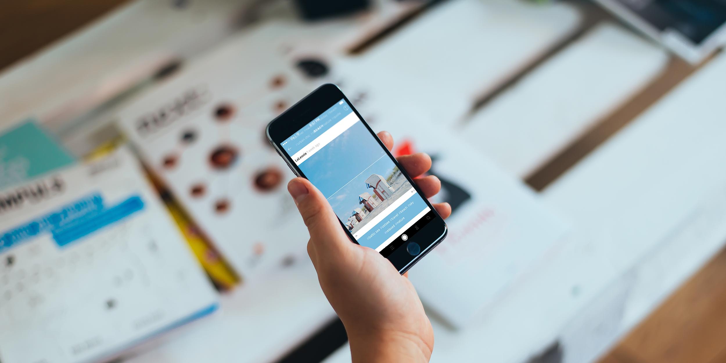 Heap для iOS —делитесь впечатлениями, комбинируя фотографии, видео, текст и аудиофайлы