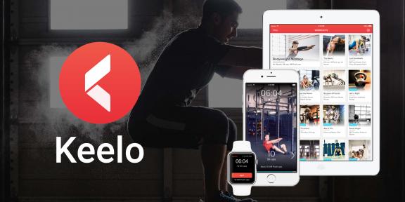 Keelo —iOS-приложение для интенсивных тренировок в любом месте