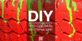 Новая жизнь старых покрышек: 73 DIY-идеи