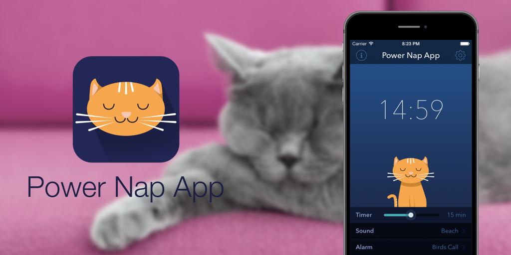Power Nap App для iOS — милое приложение для дневного сна