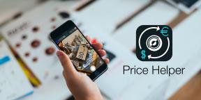 Price Helper распознаёт ценники и конвертирует стоимость в привычную валюту