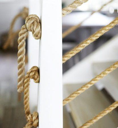 Верёвки в интерьере