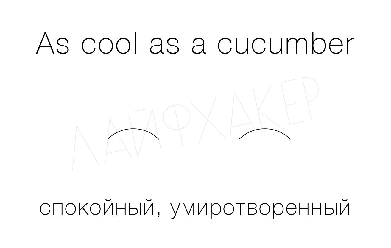английские идиомы про еду с переводом