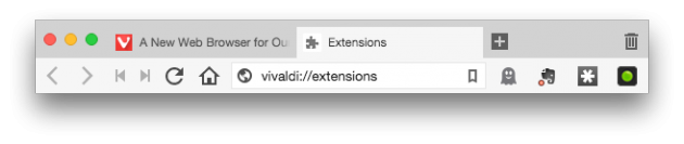 Vivaldi extension