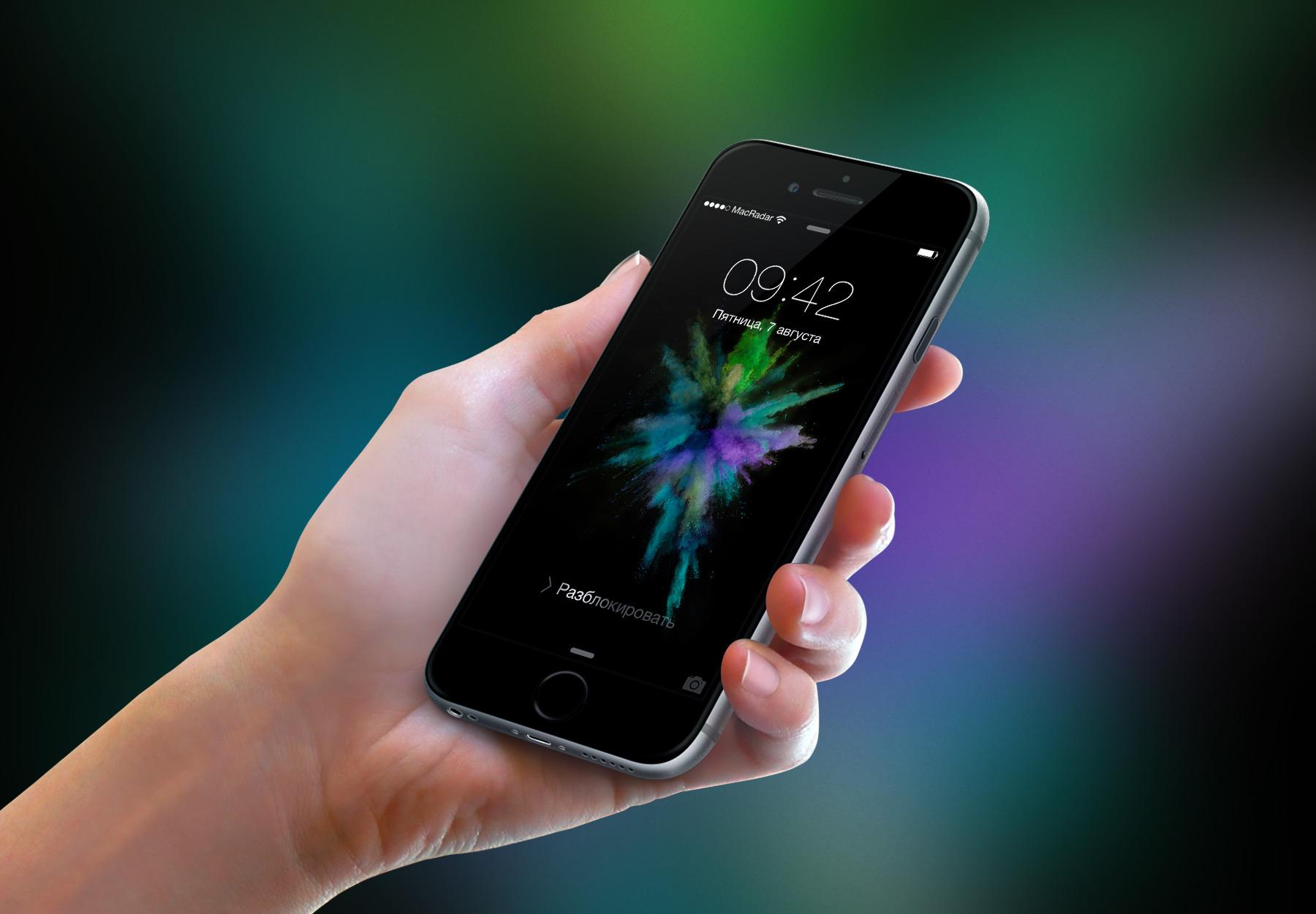 Новые обои из iOS 9