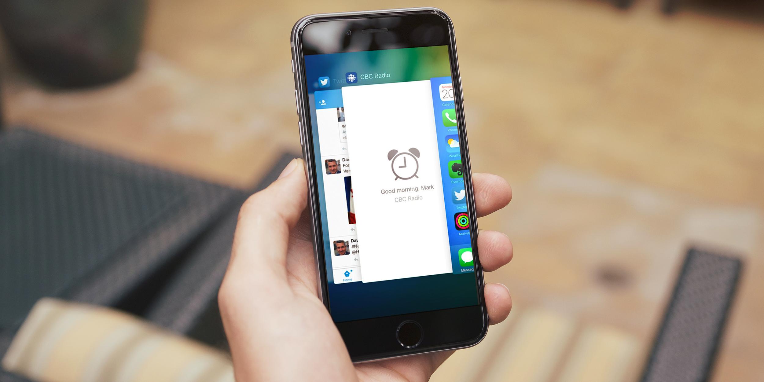 iOS 9 научилась читать ваши мысли