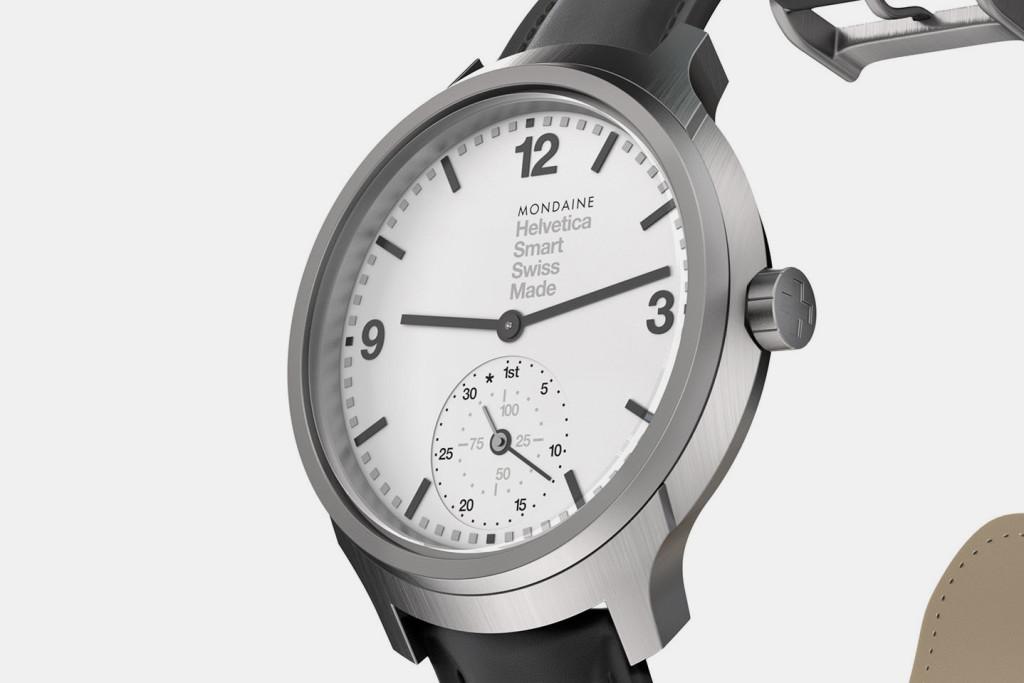 Mondaine Helvetica. Самые красивые умные часы, которые вы когда-либо видели