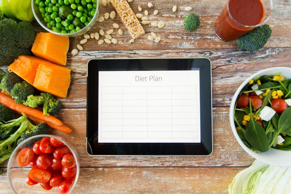 как составить план питания чтобы похудеть