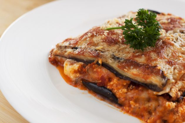 Блюда из баклажанов: лазанья