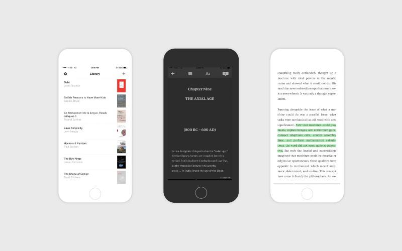 Read для iOS —бесплатный ePub-ридер с приятным дизайном
