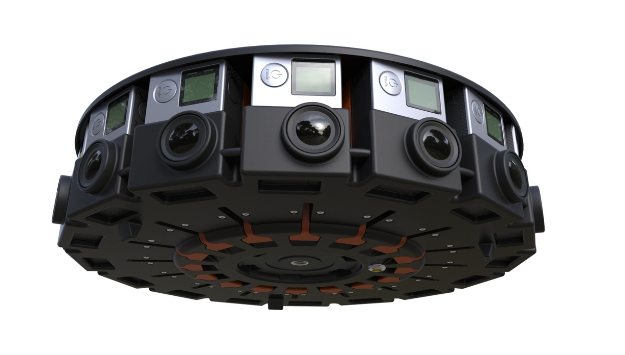 Odyssey — устройство для съемки впечатляющих панорамных видео, состоящее из 16 камер GoPro
