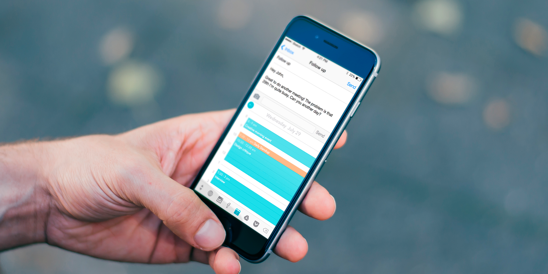 Thingthing — сторонняя iOS-клавиатура, для которой стоит найти место на смартфоне