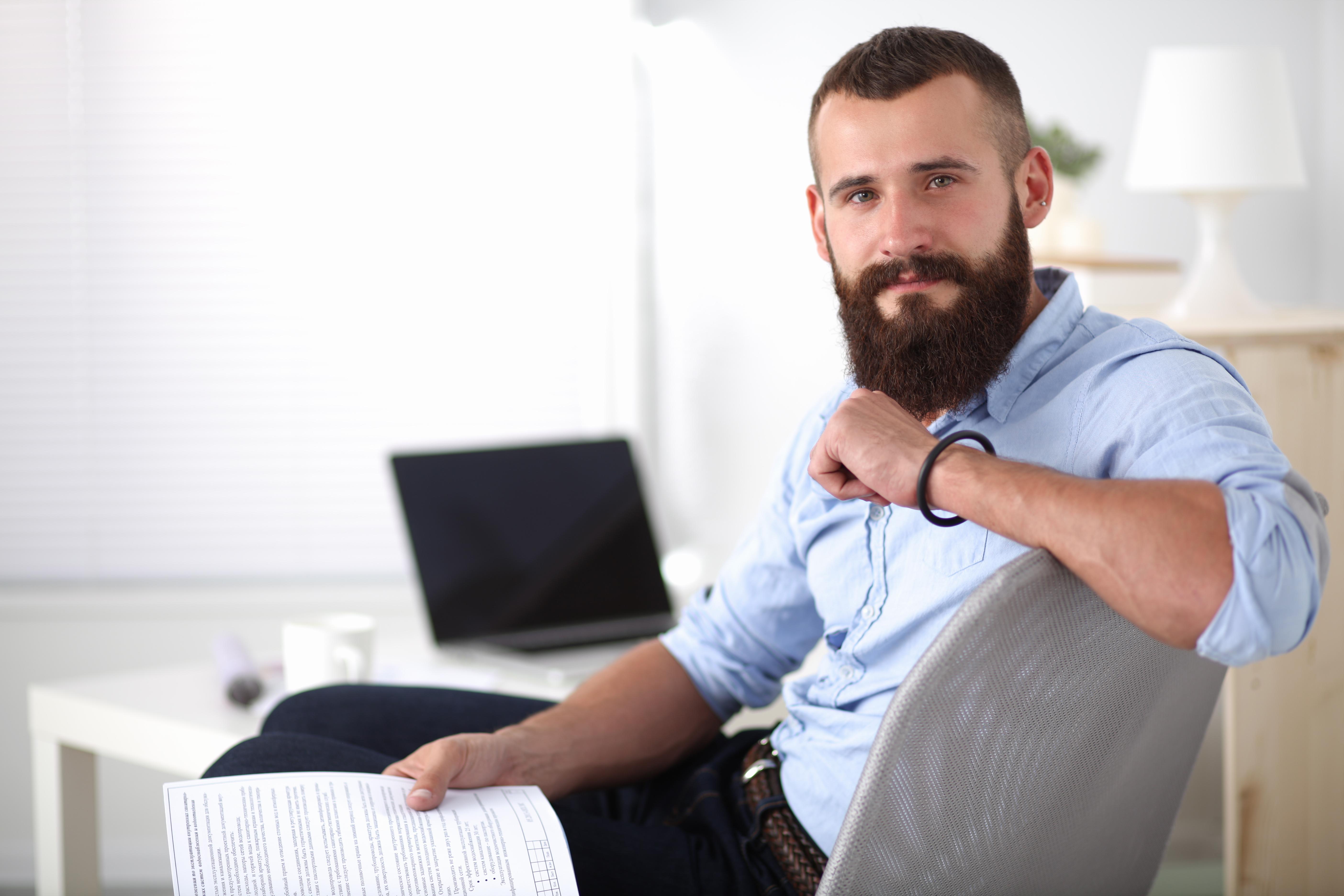 Фото брутальных мужчин с бородой на аву 57