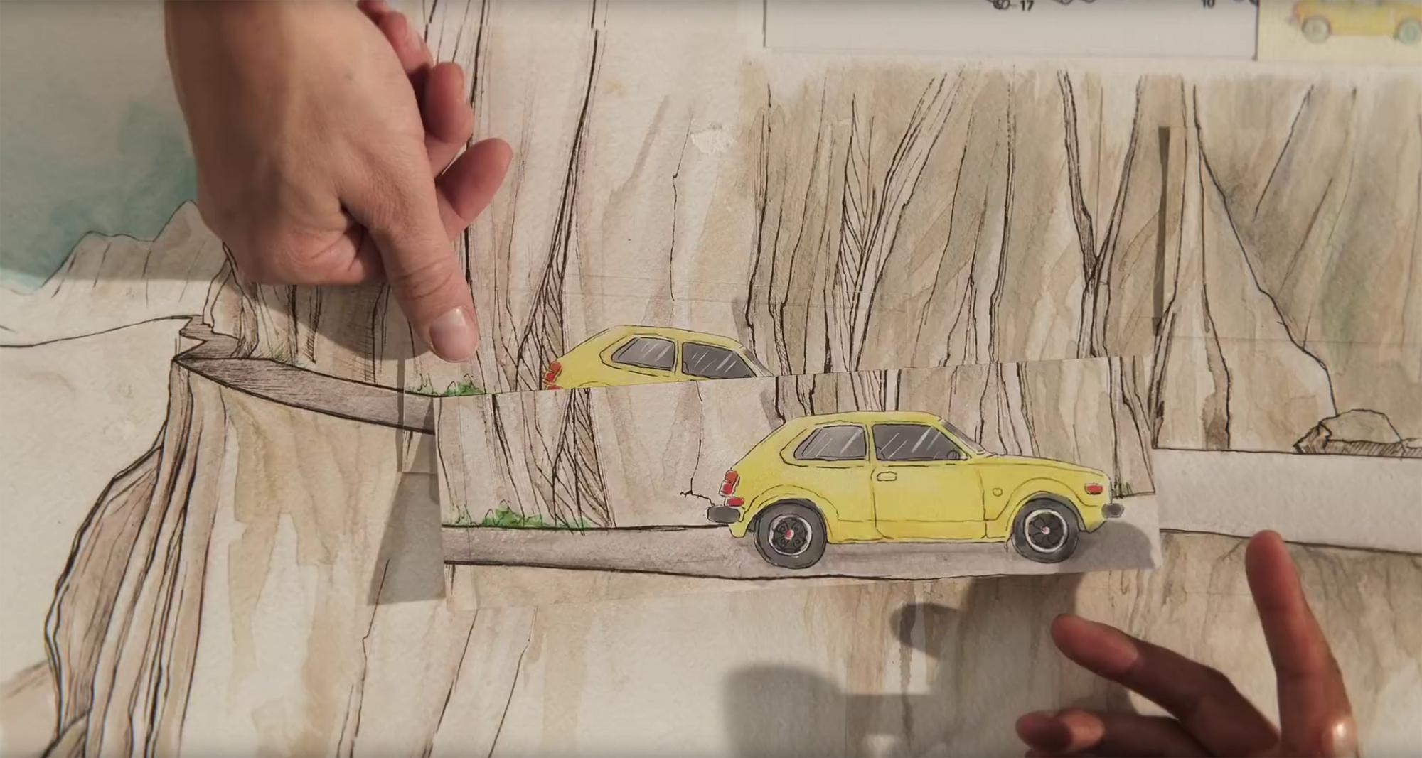 ВИДЕО: 70 лет истории компании Honda в стильном анимационном ролике