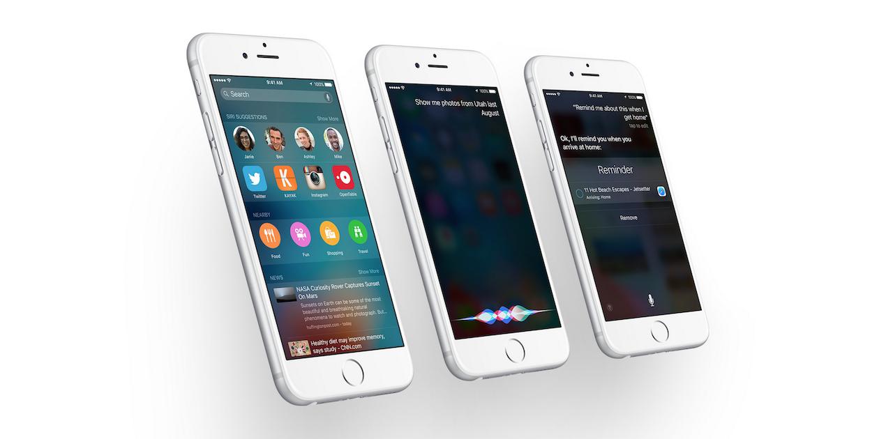 7 новых функций Siri в iOS 9