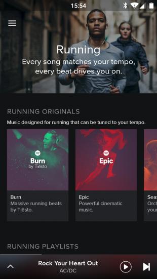 Стриминговый сервис Spotify
