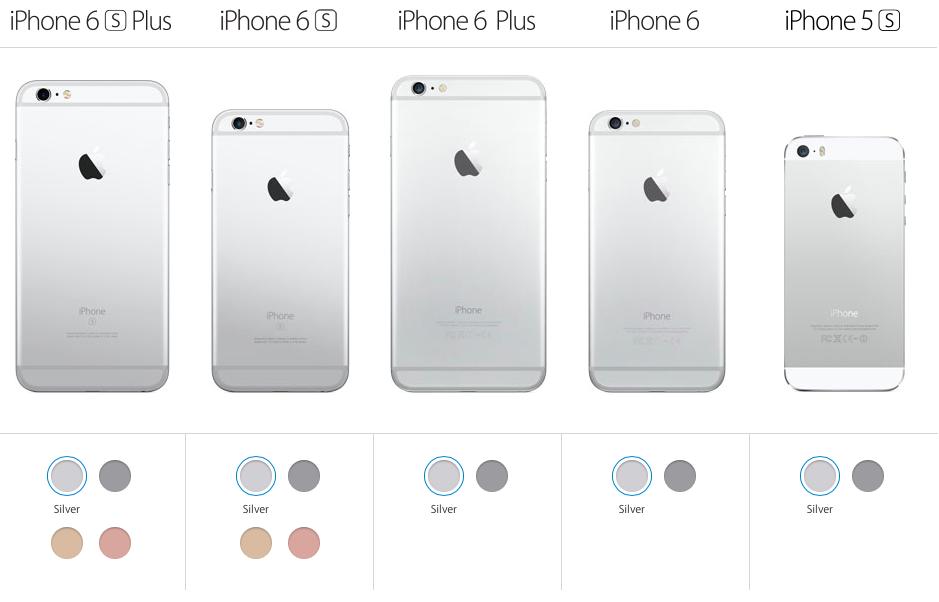 Теперь вы не можете купить золотые iPhone 6, 6 Plus и 5s