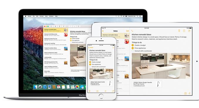 """Новые """"Заметки"""" в iOS 9 отправят Evernote и другие приложения на свалку"""