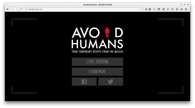 http://avoidhumans.com/