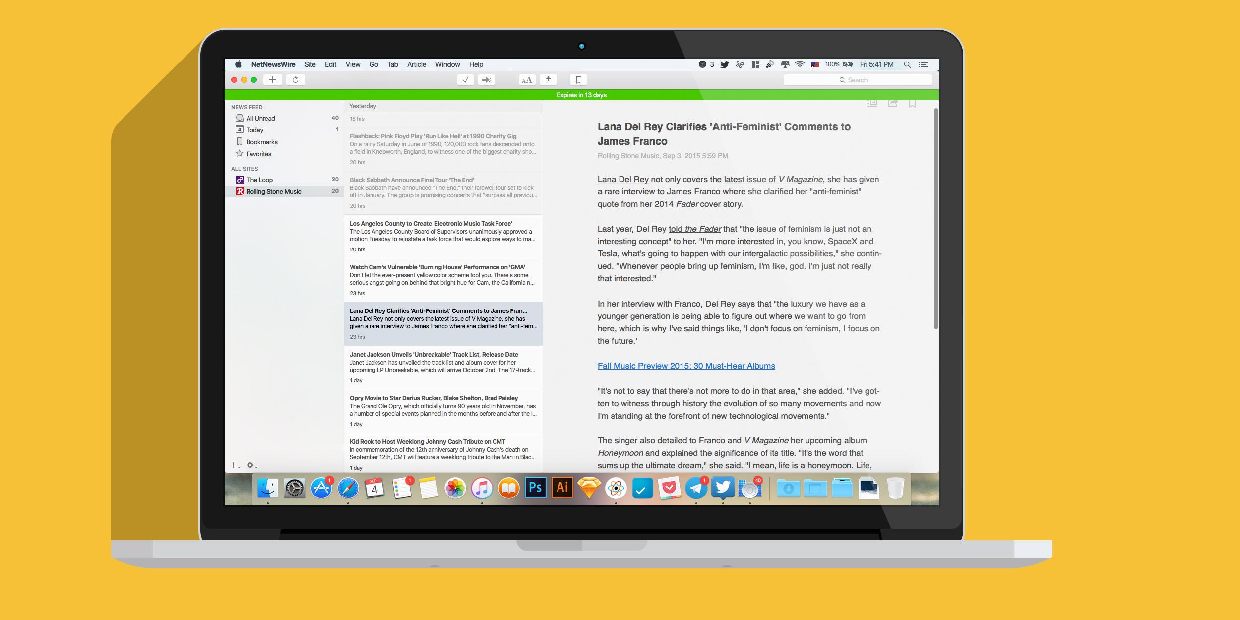 NetNewsWire 4 — возвращение популярного RSS-клиента в обновленном дизайне и c iOS-компаньоном