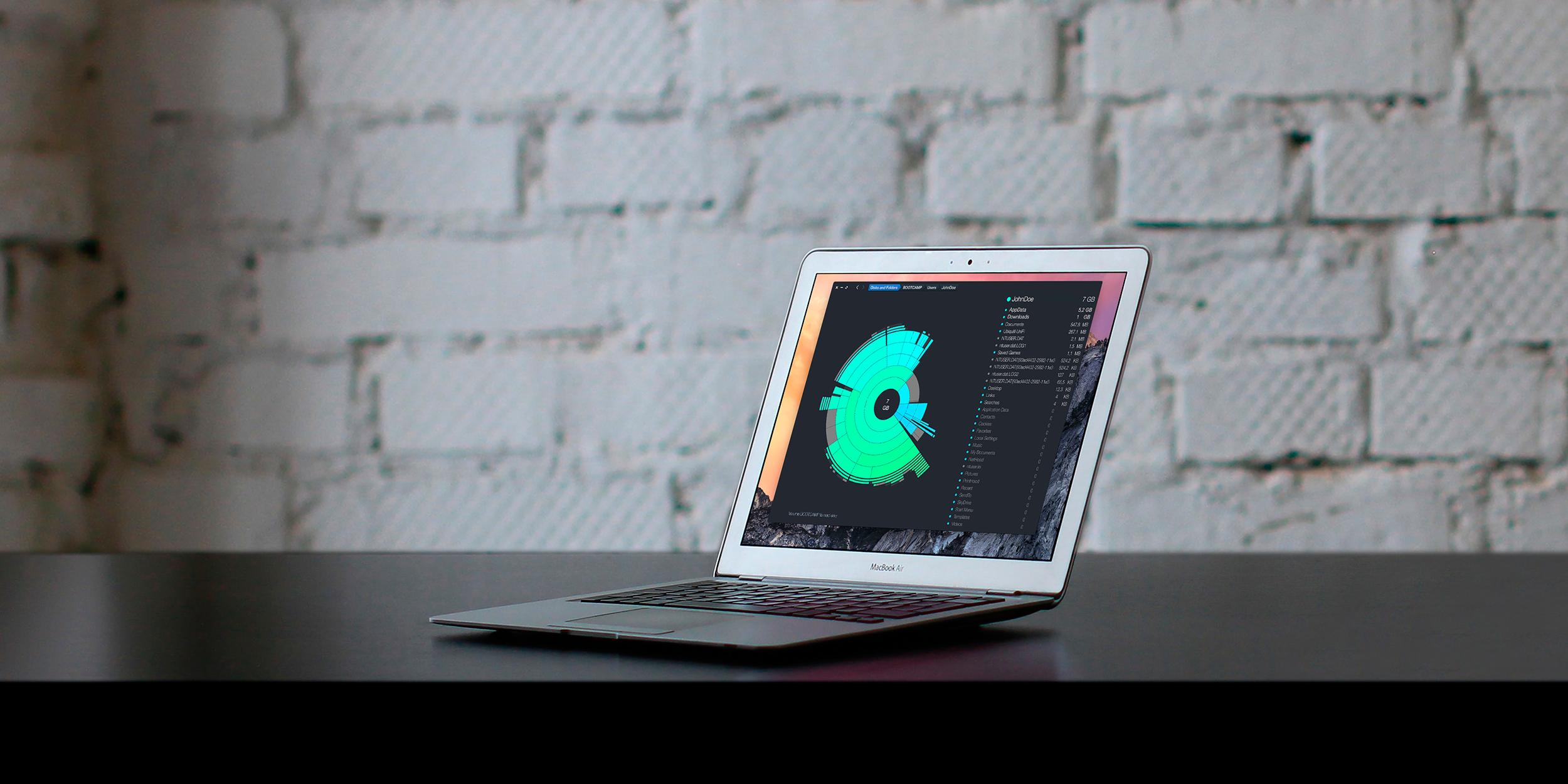 DaisyDisk 4 — анализ диска в формате круговой диаграммы теперь в 20 раз быстрее