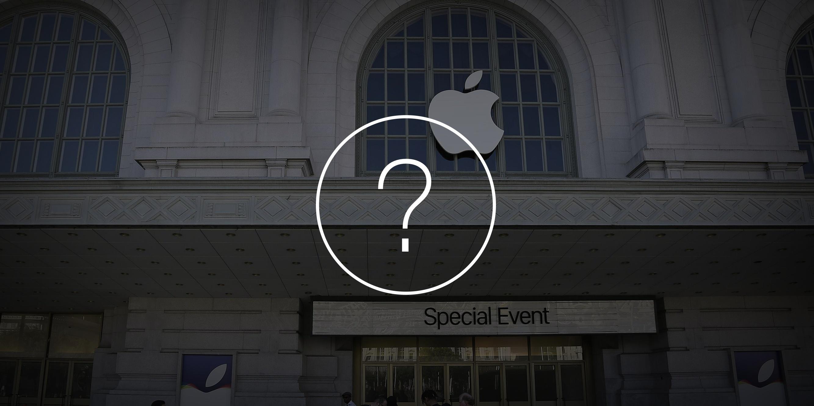 10 вопросов о прошедшей презентации Apple, которые остались без ответов