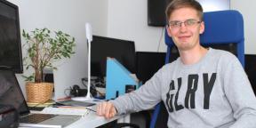 Рабочие места: Харитон Матвеев, сооснователь Skyeng
