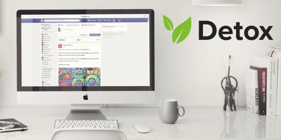 Detox для Safari, Chrome и Firefox делает ленту Facebook полезной