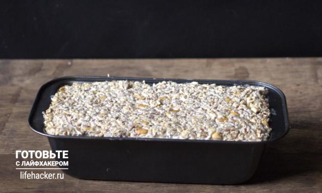 Злаковый хлеб: оставьте тесто на пару часов