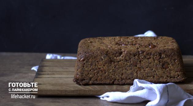 Злаковый хлеб с семечками: запекайте хлеб в духовке