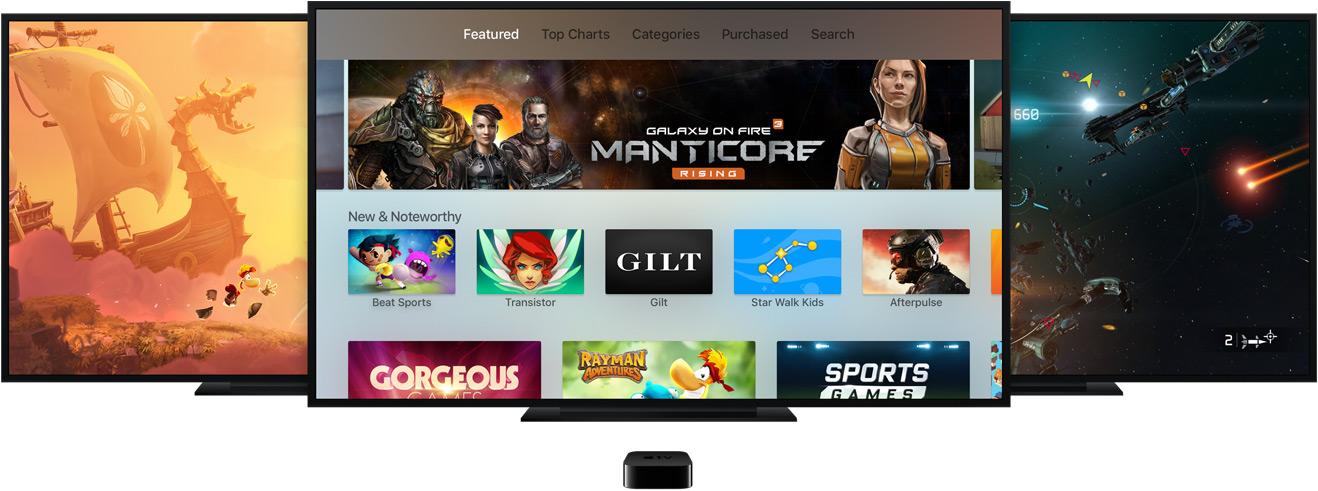 tvOS не будет доступна на Apple TV 3-го поколения