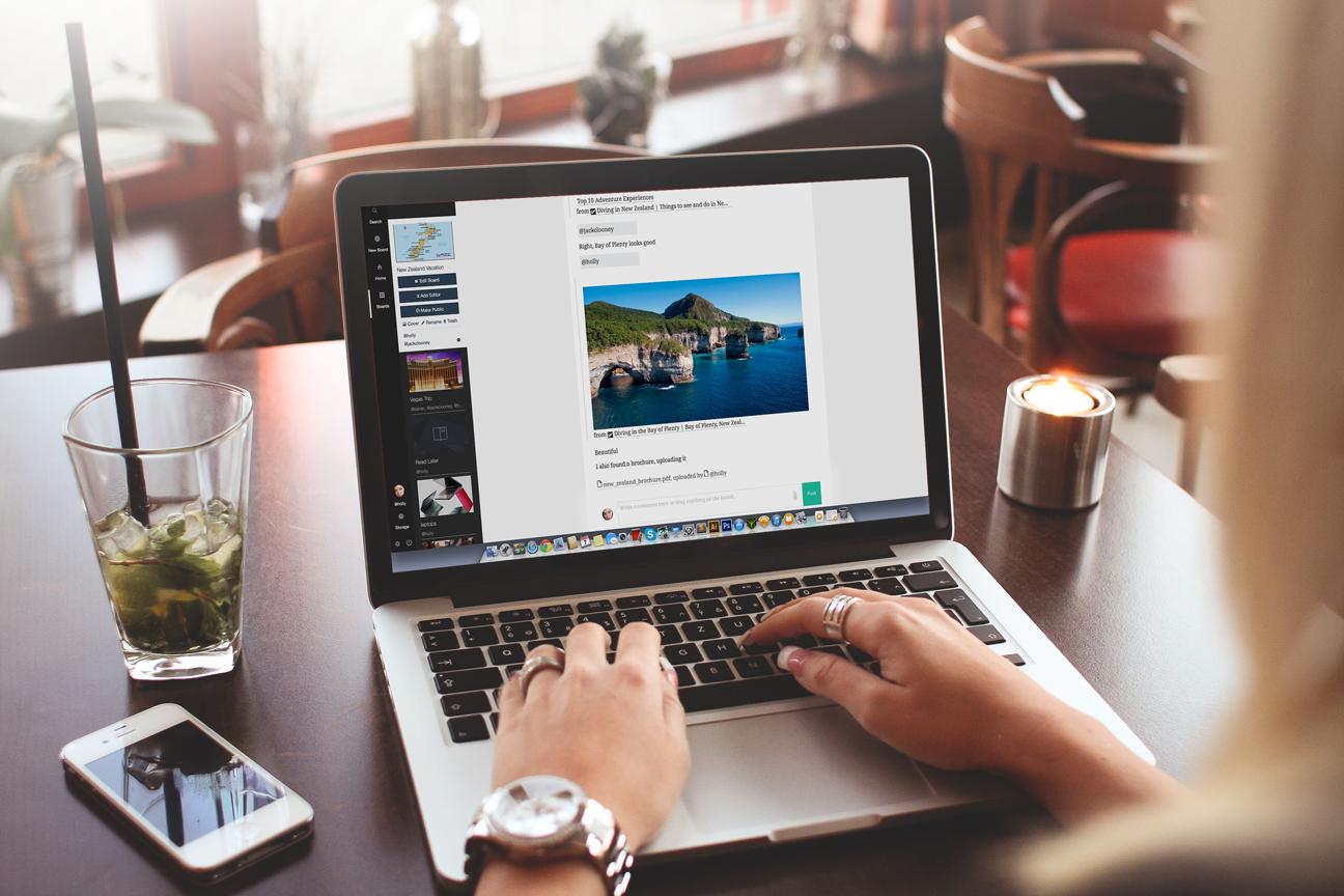 Mammoth —мультиплатформенный сервис для работы с информацией