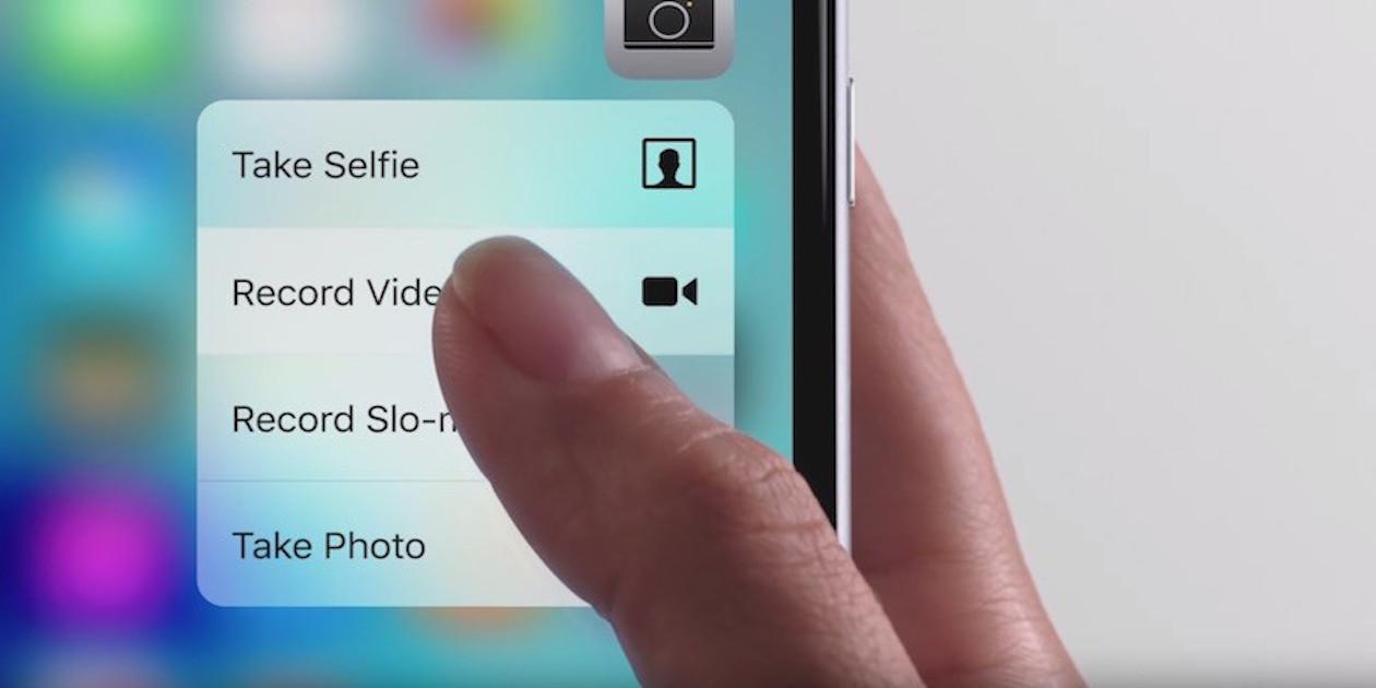 3D Touch будет работать с пленками на экране