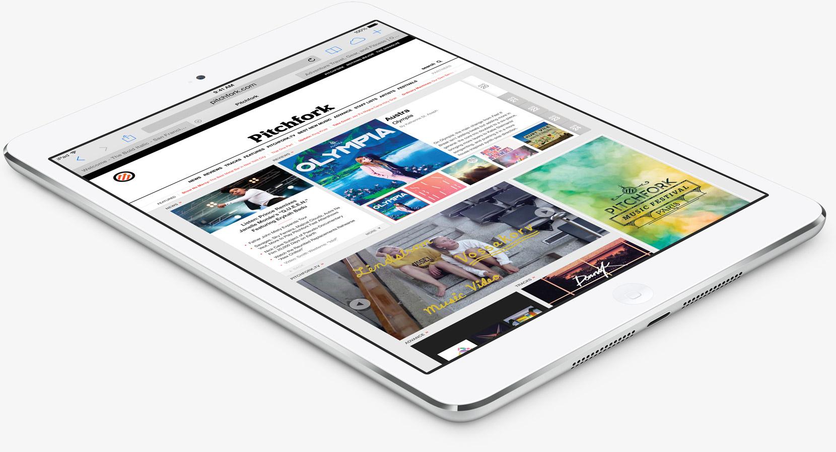 Экран iPad mini 4 — один из лучших среди планшетов Apple