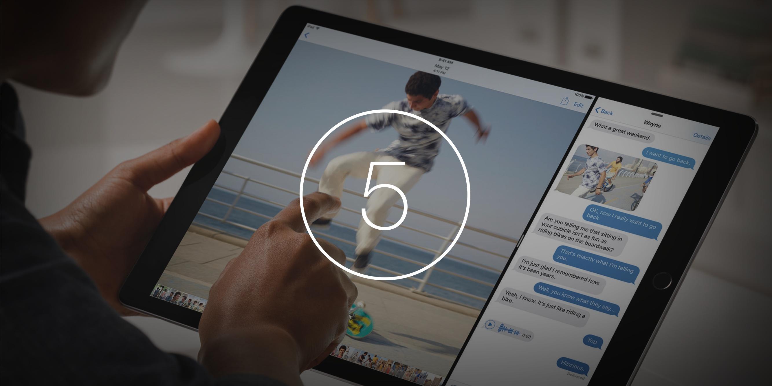 5 причин, почему iPad Pro не просто большой iPad