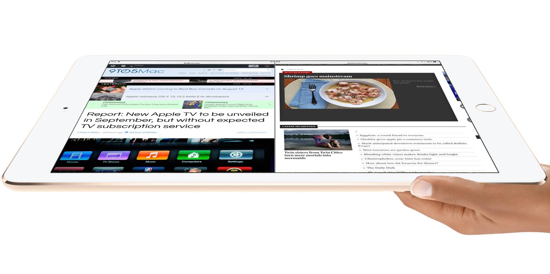 iPad Pro сможет запускать два полноразмерных приложения одновременно