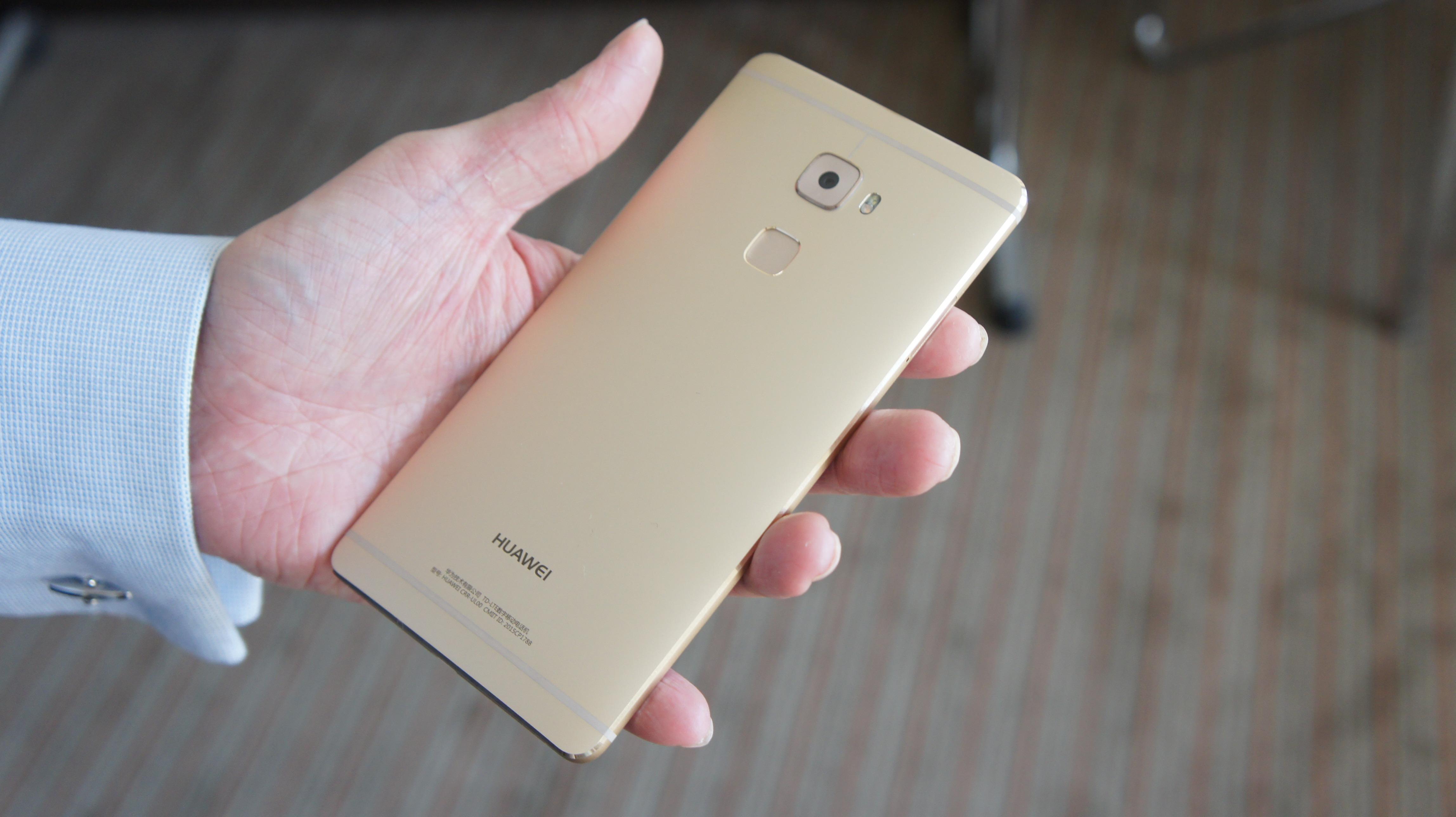 Huawei «перегнала» Apple и первой внедрила Force Touch в смартфоны
