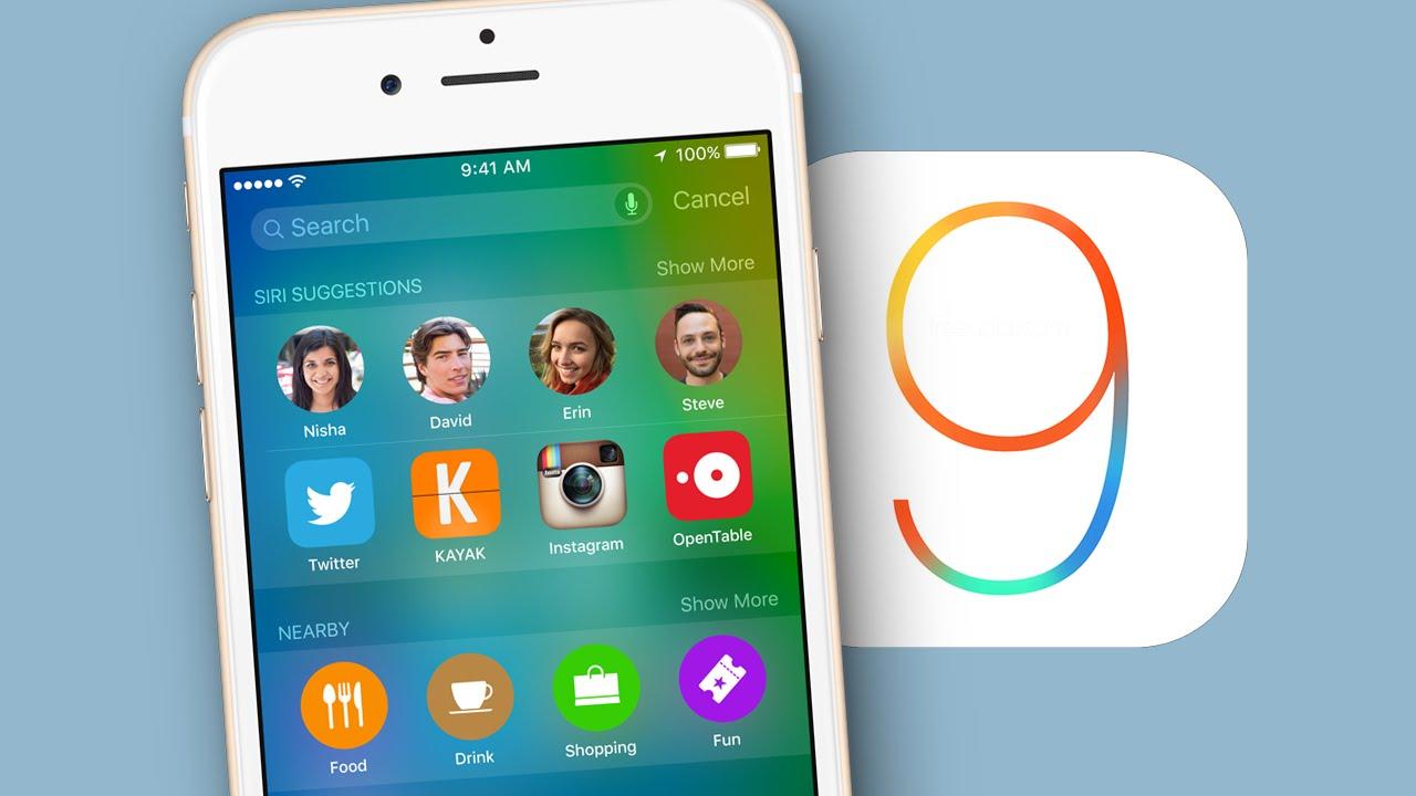 Какие фишки iOS 9 получит ваше устройство после обновления