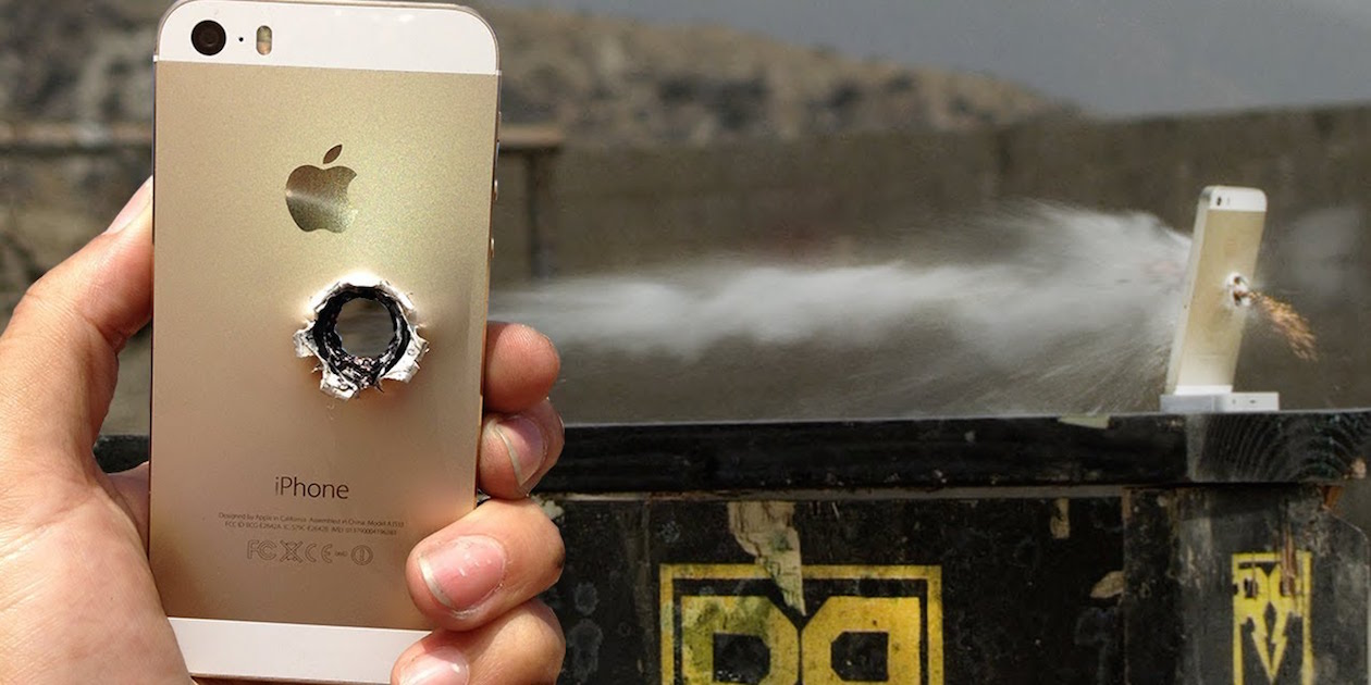 iPhone спас студента от пули во время ограбления