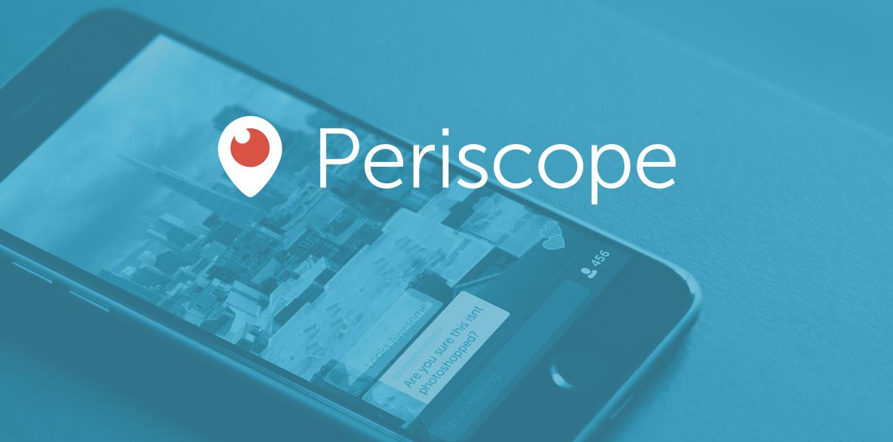 Стриминговый сервис Periscope разрабатывает приложение для новой Apple TV