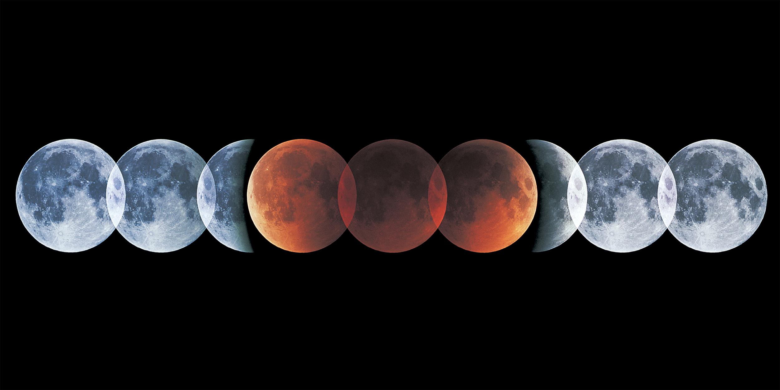 Полное лунное затмение: где смотреть?